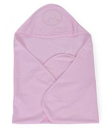 Simply Hooded Towel - Light Pink