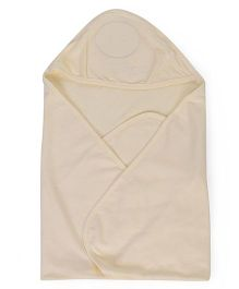 Simply Hooded Towel - Light Yellow