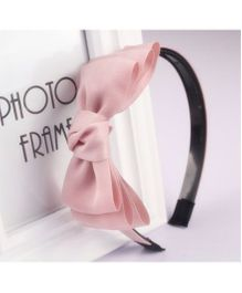 Tickles 4 U Layered Bow Hair Band - Pink
