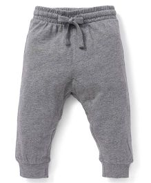 Fox Baby Full Length Track Pants - Dark Grey Melange