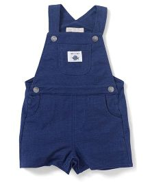 Fox Baby Romper And Onesie Set - Blue