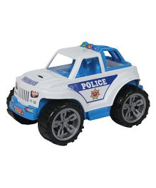 Amolak Friction PoweMulti-Color Indo Police Jeep Multi-Color