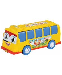 G Angad Friction PoweMulti-Color Picnic Bus