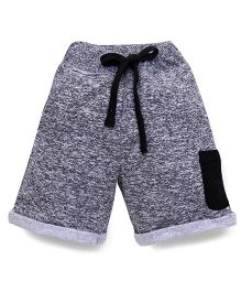 Highflier Plush Knitted Shorts - White