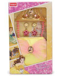 Disney Beauty & The Beast Bag Jewellery Set - Golden