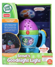 Leap Frog Scout's Goodnight Light - Blue Purple Green