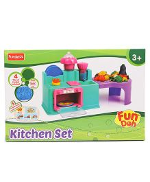 Fun Dough Kitchen Playset - Multi Color