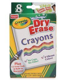 Crayola Dry Erase Crayons Washable