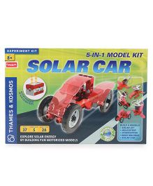 Thames & Kosmos Solar Car Set Science Kit - 37 Pieces