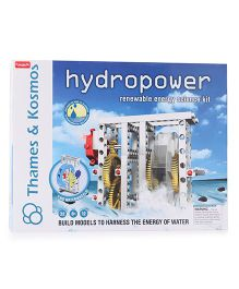 Thames & Kosmos Hydro Power Renewable Energy Science Kit - 80 Pieces