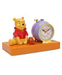 Disney Winnie The Pooh Alarm Clock - Yellow