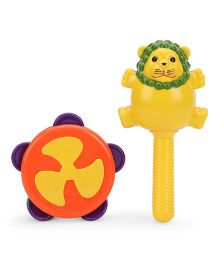 Ratnas Chime Rattle Set (Color May Vary)