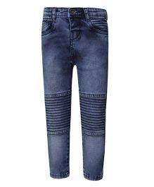 Tales & Stories Full Length Denim Trouser - Medium Blue