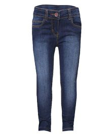 Tales & Stories Full Length Denim Jeans - Dark Blue