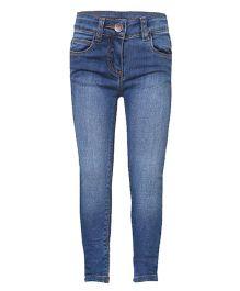 Tales & Stories Full Length Denim Jeans - Light Blue