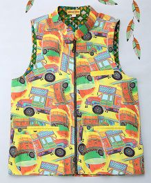 Shruti Jalan Truck Printed Jacket - Multicolor