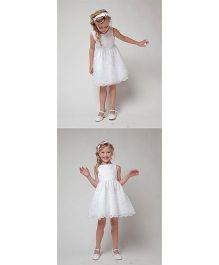 Pre Order - Awabox Lace Dress - White