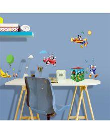 Decofun Mickey Mouse Power Box Wall Sticker - Multi Color