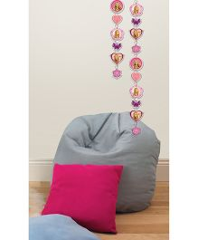 Decofun Hannah Montana Garland Wall Sticker - Pink