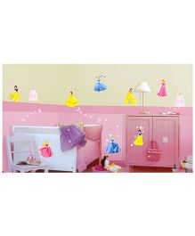 Decofun Disney Princess Wall Stickers Large - Multi Color