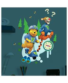 Decofun Glow in Dark Winnie The Pooh & Friends Wall Decal Extra Large - Multi Color