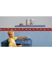 Decofun Disney Pixar Cars Border Roll Wall Sticker - Red