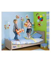 Decofun Winnie The Pooh Large Wall Sticker - Multi Color