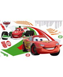 Decofun Disney Pixar Cars Large Wall Sticker Wall - Red Green