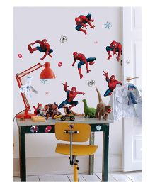 Decofun Spider Man Foam Electrostatic Wall Decal - Red Blue