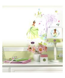 Decofun Disney Princess Electrostatic Wall Stickers - Multi Color