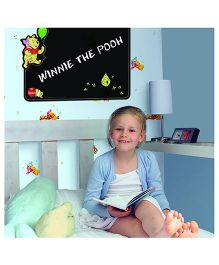Decofun Winnie The Pooh Blackboard Wall Sticker - Black