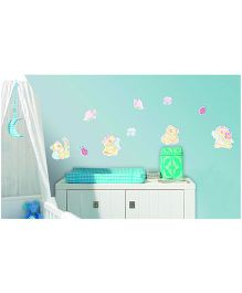 Bear Brothers Foam Hooks Electrostatic Wall Decal - Multi Color