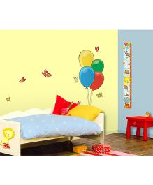 Decofun Circus Foam Growth Chart Wall Decal - Multi Color