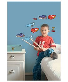 Decofun Disney Pixar Cars Foam Wall Sticker - Red Blue