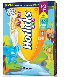 Horlicks Junior Stage 2 Original Flavor Refill Pack - 500 gm