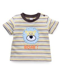 Baby Yi Attractive Lion Print T-Shirt - Yellow