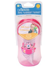 Dr.Brown's Soft Spout Toddler Cup Stage 2 Pink - 270 ml