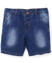ToffyHouse Denim Shorts - Light Blue