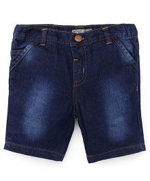 ToffyHouse Denim Shorts - Dark Blue