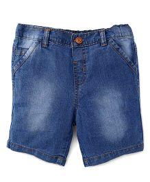 ToffyHouse Denim Shorts - Ice Blue