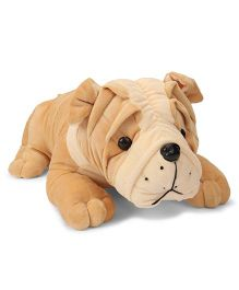 Funzoo Bull Dog Soft Toy Brown - 40 cm