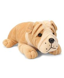 Funzoo Bull Dog Soft Toy Brown - 30 cm