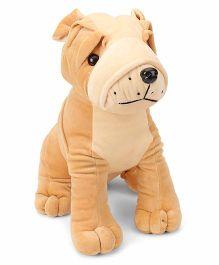 Funzoo Bull Dog Soft Toy Brown - 30 cm