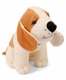 Funzoo Puppy Soft Toy Brown Cream - 23 cm