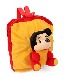 Funzoo Soft Toy Bag Mickey Mouse Yellow & Red - 12 inches