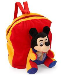 Funzoo Soft Toy Bag Mickey Mouse Red & Yellow - 13 inches