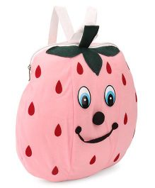 Funzoo Strawberry Soft Toy Bag Pink - 11.8 Inches