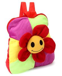 Funzoo Soft Toy Bag Flower Shape Multicolor - 12.4 Inches