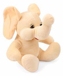 Funzoo Elephant Soft Toy Cream - 30 cm