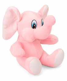 Funzoo Elephant Soft Toy Pink - 20 cm
